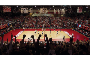 Husker Volleyball's Queens of the Court
