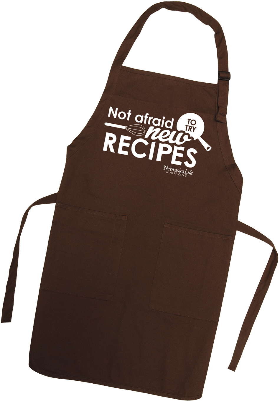 """""""Not Afraid To Try New Recipes"""" Apron"""