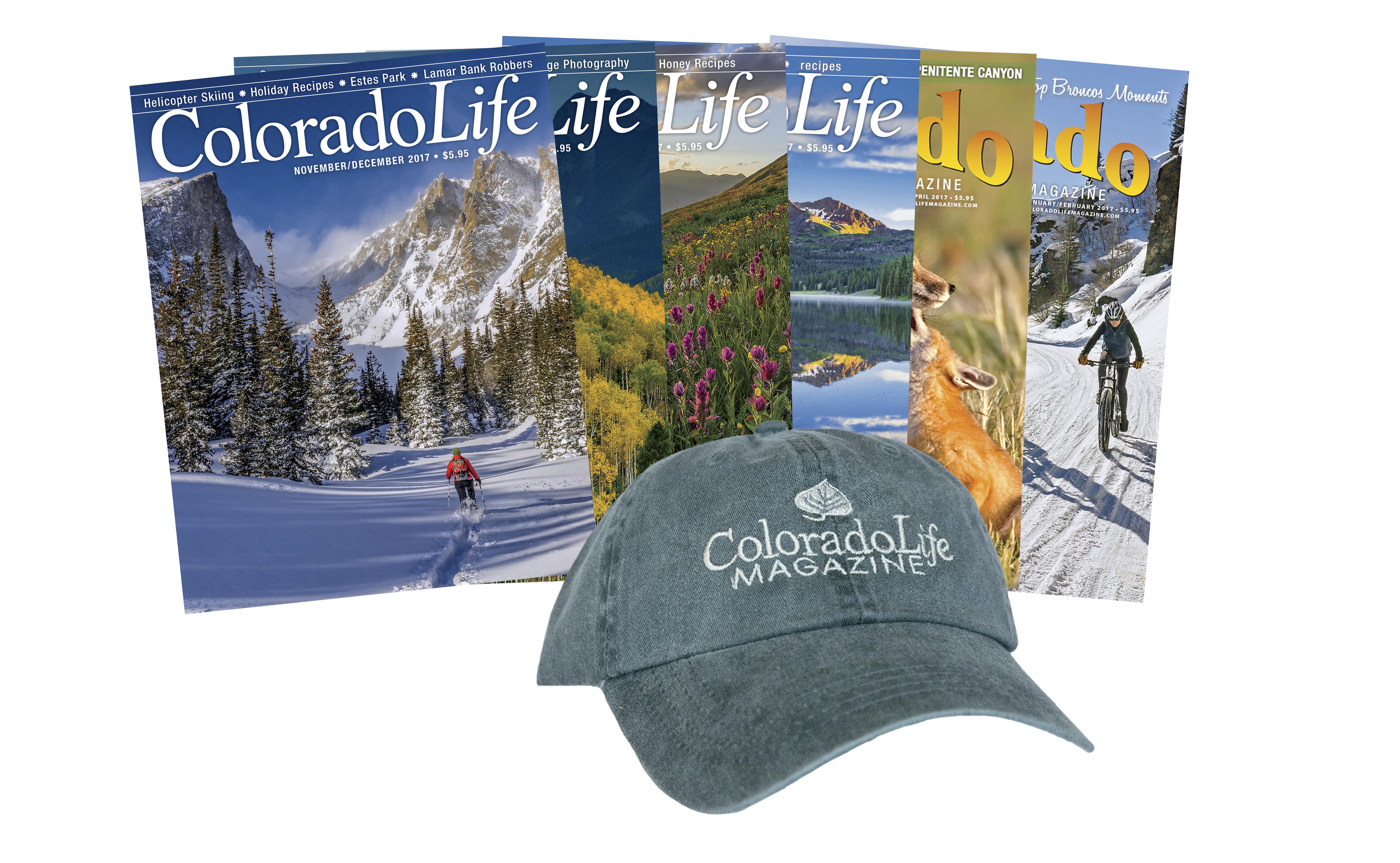Combo - Colorado Life Cap + 1-yr Subscription