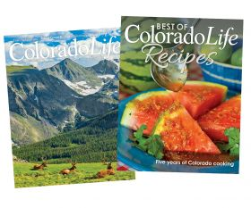 Combo - Best of Colorado Life Recipes + 1-yr Subscription