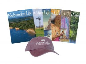 Combo - Nebraska Life Cap + 1-yr Subscription