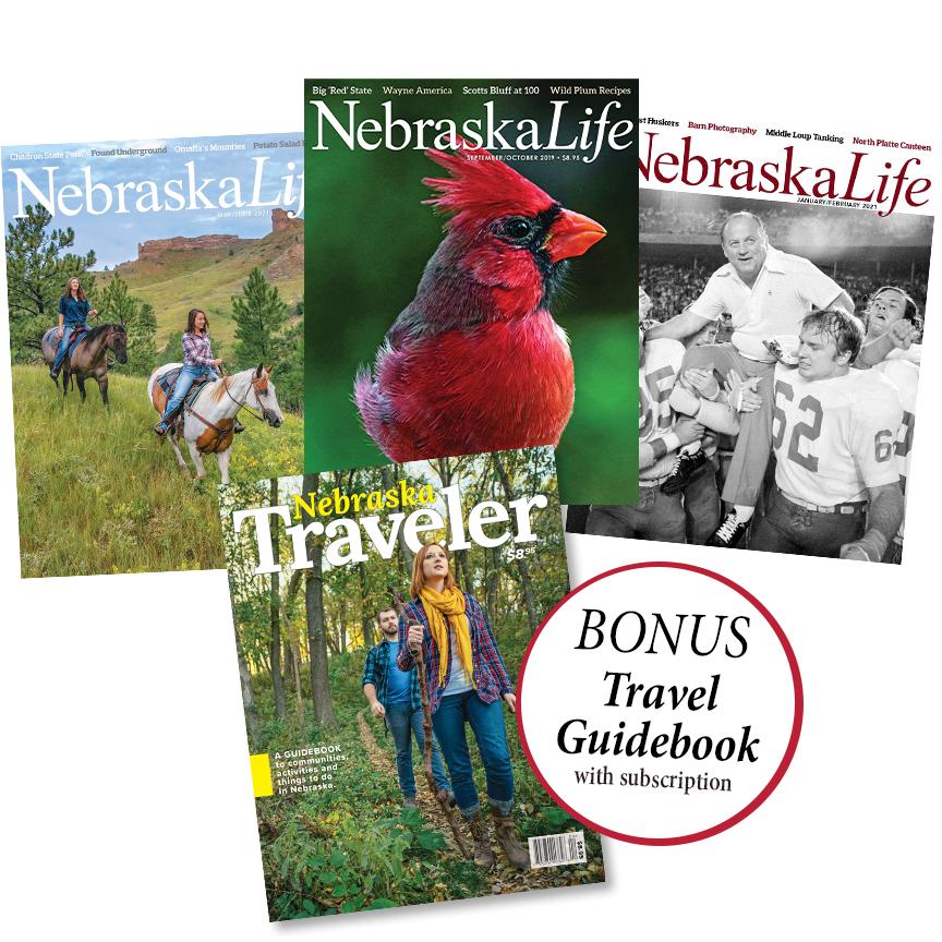 Combo - Nebraska Traveler 2021 + 1yr Subscription
