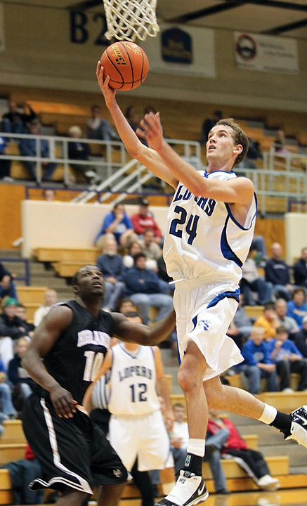 Basketball action heats up the winter at UNK's 6,000-seat Health & Sports Center.